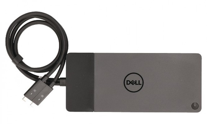 Dock Dell Wd19Dc   Support Màn Hình 5K   Power Delivery 210W
