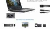 Dock Dell Wd19Dc | Support Màn Hình 5K | Power Delivery 210W